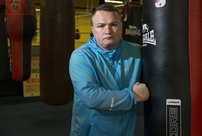 Mandatory Credit: Photo by REX/Shutterstock (8373461g) Former professional boxer Bradley Welsh in his new boxing gym Former professional boxer Bradley Welsh, Edinburgh, Scotland, UK - 08 Sep 2015 Former professional boxer Bradley Welsh in his new boxing gym, Europe's largest, with seven boxing rings, 160 bags and a sprint running track - all in the middle of Edinburgh. Bradley also plays a Sauna (Brothel) owner in new film Trainspotting 2