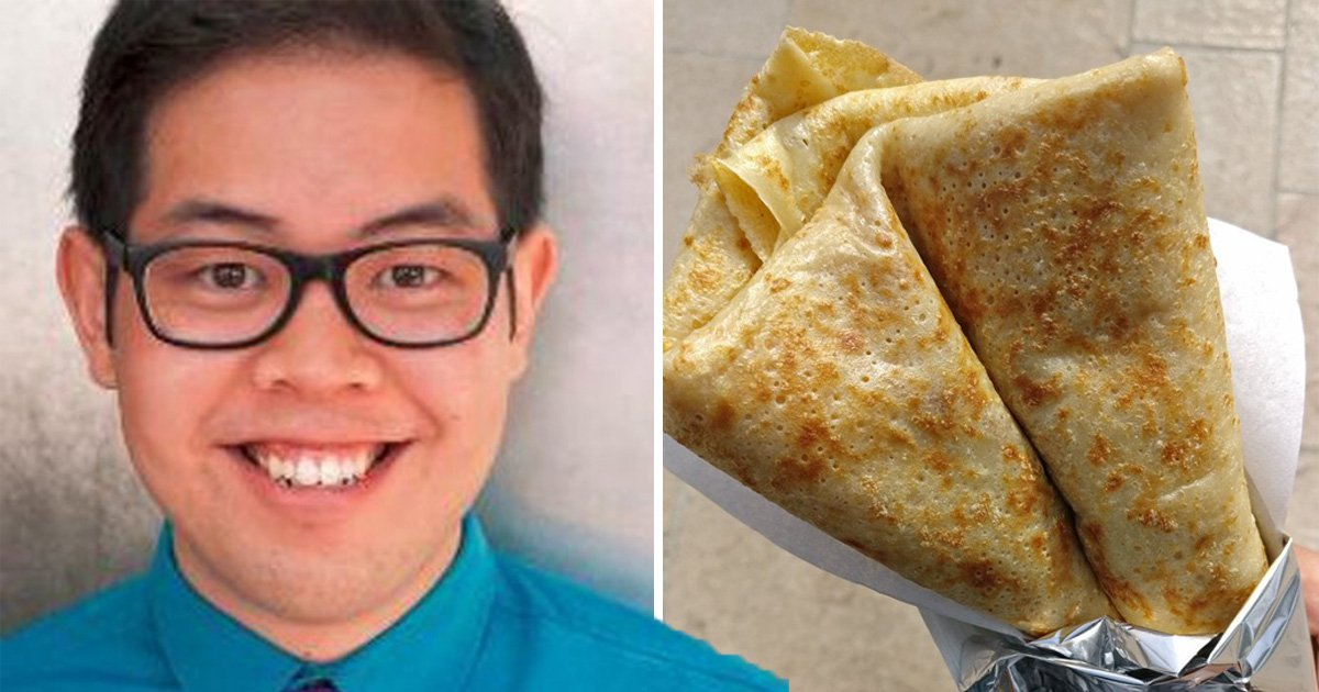 Comedian calls a crepe 'French roti' and people love it