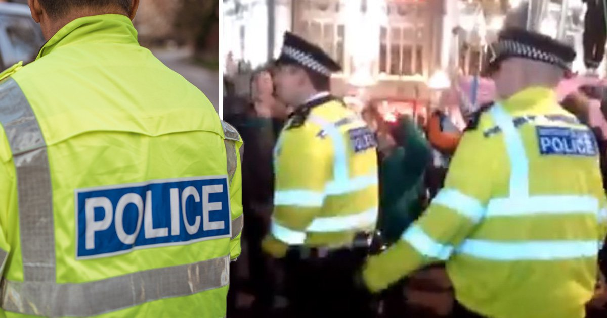 Killjoy police boss 'disappointed' at cops raving during climate protest