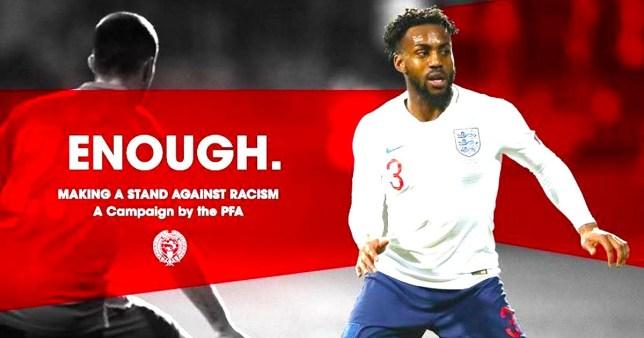 Footballers boycott social media over racism Picture: PFA METROGRAB