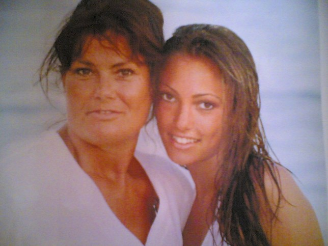Love Island star Sophie Gradon's mum hits out fan who questioned her cause of death picture: @MommaDebs METROGRAB edit