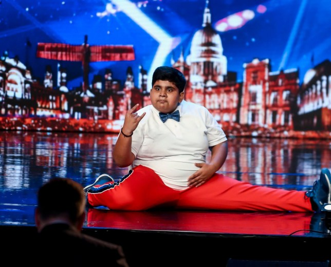 STRICT EMBARGO - NO USE BEFORE 12:00PM GMT SATURDAY 20 APR 2019 - Editorial use only. No book publishing. Mandatory Credit: Photo by Dymond/Thames/Syco/REX (10214971j) Akshat Singh 'Britain's Got Talent' TV Show, Series 13, Episode 3, UK - 20 Apr 2019
