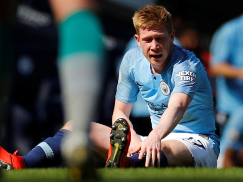 Pep Guardiola hopes for 'one or two more games' from Kevin De Bruyne this season