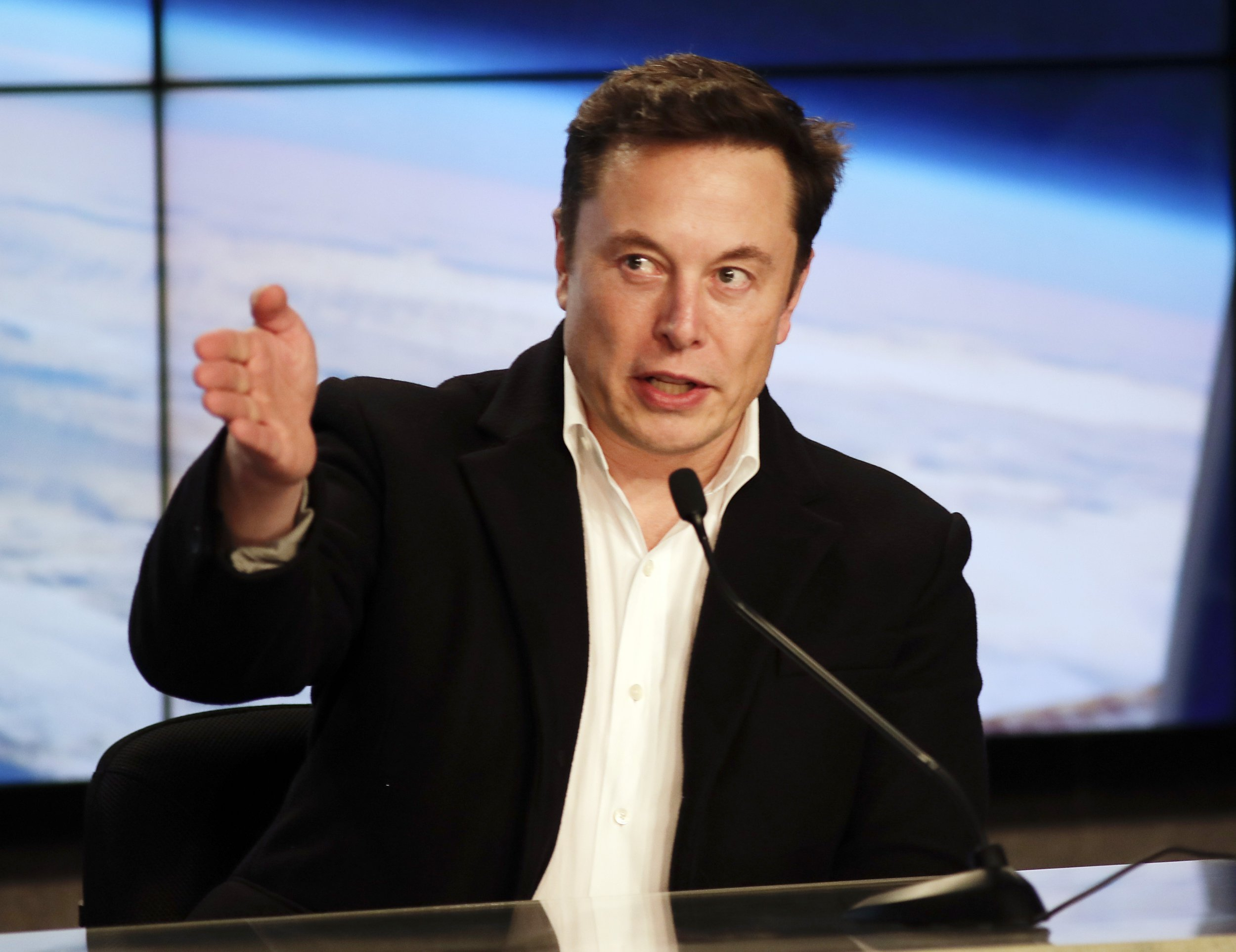 FILE - In this Mar 2, 2019 record photo, Elon Musk, CEO of SpaceX, speaks during a news discussion after a SpaceX Falcon 9 Demo-1 launch during a Kennedy Space Center in Cape Canaveral, Fla. Tesla skeleton to cut a house of directors from 11 to 7 in a pierce a automobile builder says will concede a house to act some-more nimbly and efficiently. Tesla says a 4 directors who will skip aren't withdrawal since of any feud with a company. Tesla disclosed a changes in regulatory filings Friday, Apr 19, 2019. (AP Photo/John Raoux)