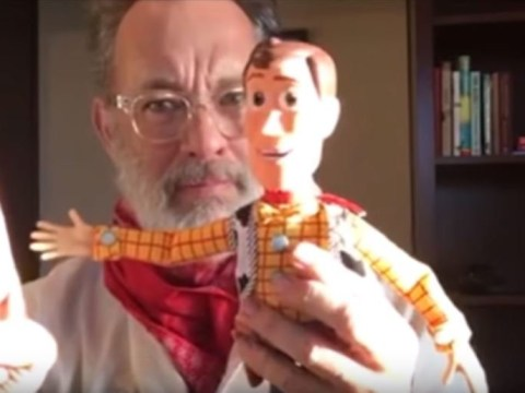 Tom Hanks says recording Woody's final scenes in Toy Story 4 was 'pretty profound'