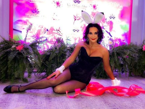 Strictly's Shirley Ballas gives Playboy a run for its money as she poses in Easter Bunny outfit