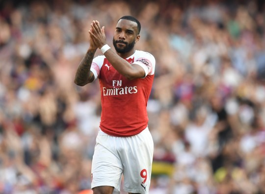Barcelona have shown interest in Alexandre Lacazette (Picture: EPA)