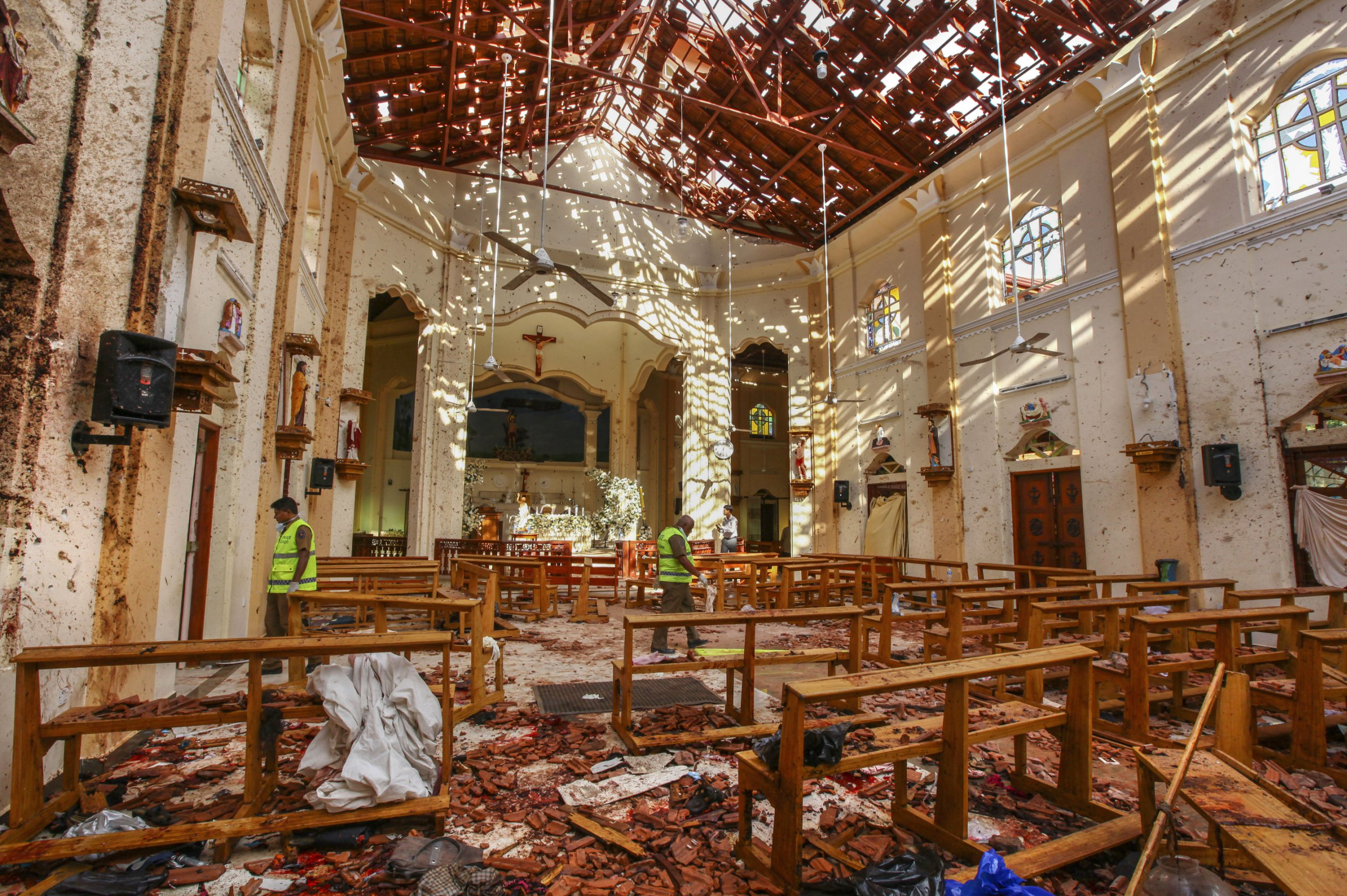Sri Lanka suicide bomb attacks was 'revenge for Christchurch'