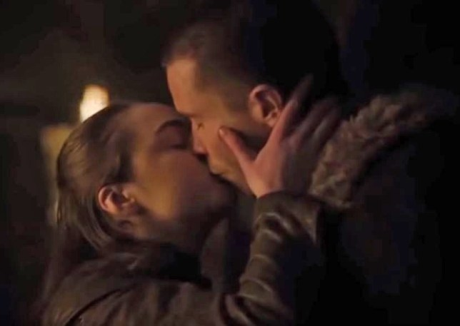 HBO game of thrones arya and gendry