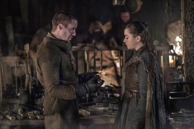 Game of Thrones (Picture: HBO) Is Game Of Thrones' Arya Stark's personalised dragonglass weapon a huge clue for The Battle of Winterfell?