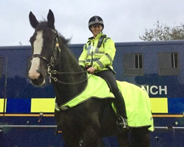 ?? WARREN SMITH 2019 SUBMIT A police horse has sadly died today (22 April) after being injured in Blackpool. Police horse Morecambe came into contact with a metal pole on Seasiders Way at around 5:20pm today following the Blackpool vs Fleetwood football fixture. As a result he suffered a serious injury to his stomach and despite receiving urgent medical attention from a vet, was sadly pronounced dead at the scene. Morecambe???s rider has been taken by air ambulance to Royal Preston Hospital with some injuries. SEE DAVE GRAHAM COPY