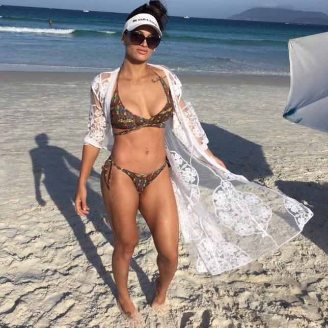 Sexy Lesbians The Beach