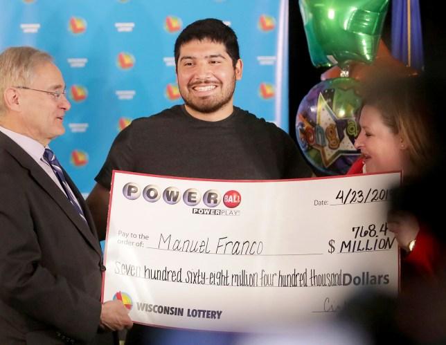 power ball lottery winner today