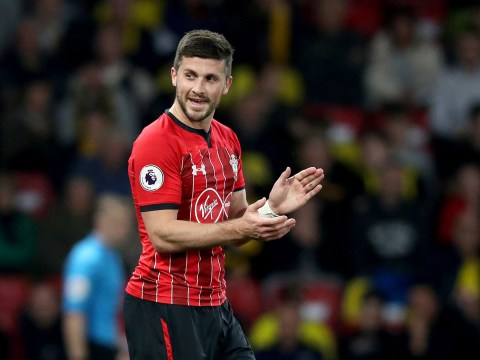 Shane Long reacts to scoring Premier League's fastest ever goal for Southampton against Watford