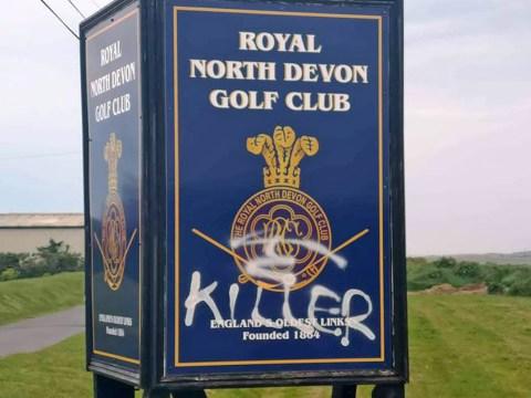 England's oldest golf club vandalised by badger activists