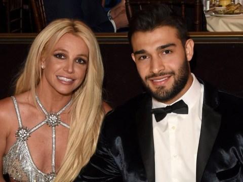 Britney Spears' boyfriend Sam Asghari assures fans she's 'doing amazing' in mental health facility