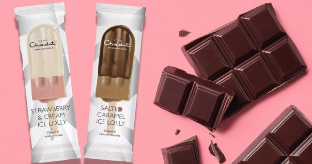 Hotel Chocolat Launches All-Natural, Vegan Ice Lollies