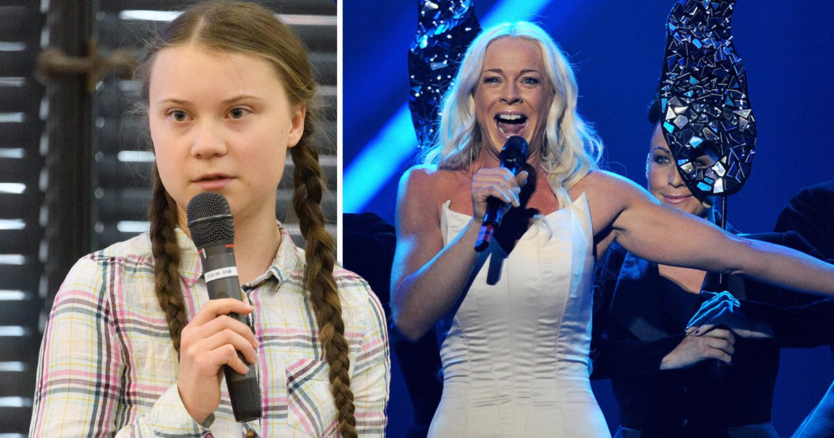 Greta Thunberg's mother is a Eurovision legend, but apparently that's a bad thing