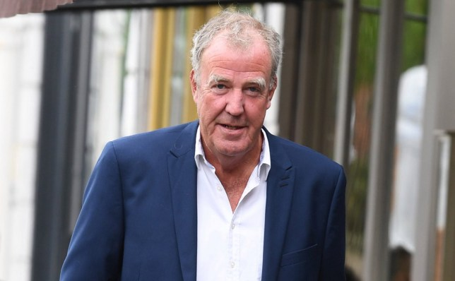 24 April 2019. Jeremy Clarkson Leaves Daylesford in Notting Hill Pictured: Jeremy Clarkson Credit: MT /GoffPhotos.com Ref: KGC-520