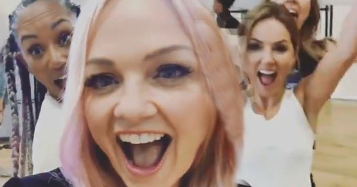 Mel B and Geri Horner sex scandal lapped up by the Spice Girls during tour rehearsals, reveals Emma Bunton