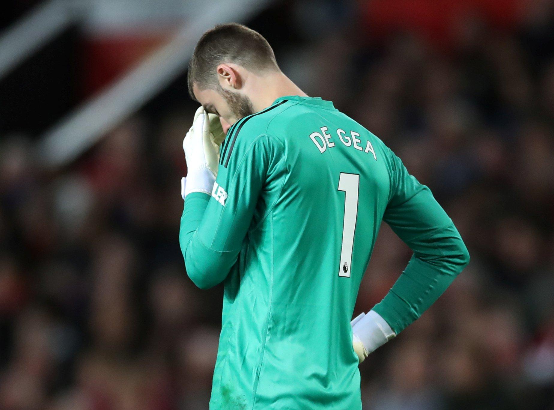 Man Utd star David de Gea 'close to tears' after losing to Man City as he considers transfer