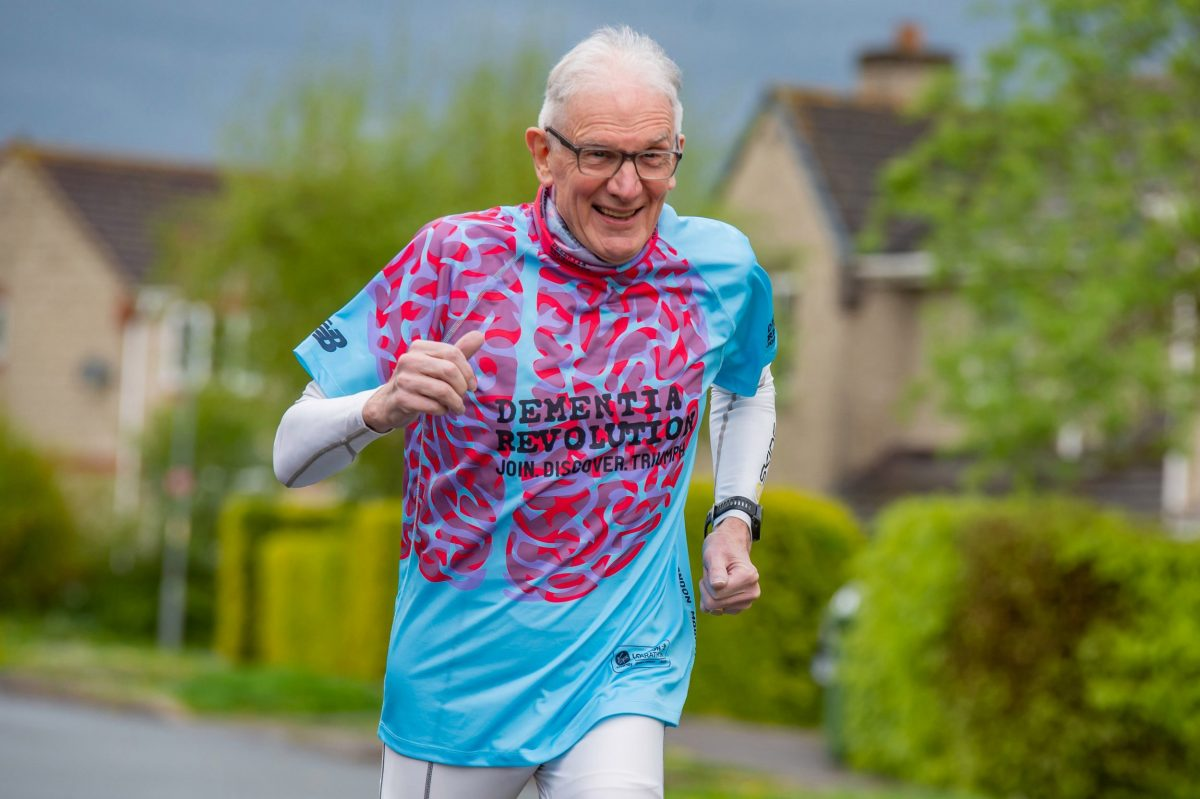 Malcolm Brookes, 78 is the oldest Brit to finish 100 marathons, Hereford. The oldest Brit to run 100 marathons will take part in his 131st race at the London Marathon on Sunday, despite having dementia. See SWNS story SWMDrunner. Malcolm Brookes, 78, was diagnosed with vascular dementia, which affects around 150,000 people in the UK, just months after completing his 100th marathon. Aged 74 at the time of the race in 2015, he was the oldest Briton to join the 100 Marathon Club. His condition means he is finding it increasingly difficult to come up with the right words to share his favourite stories, relying on his supportive wife Mary to fill in the gaps. But he is determined not to let it stop him completing his 131st 26-mile race when he takes part in the London Marathon on April 28.