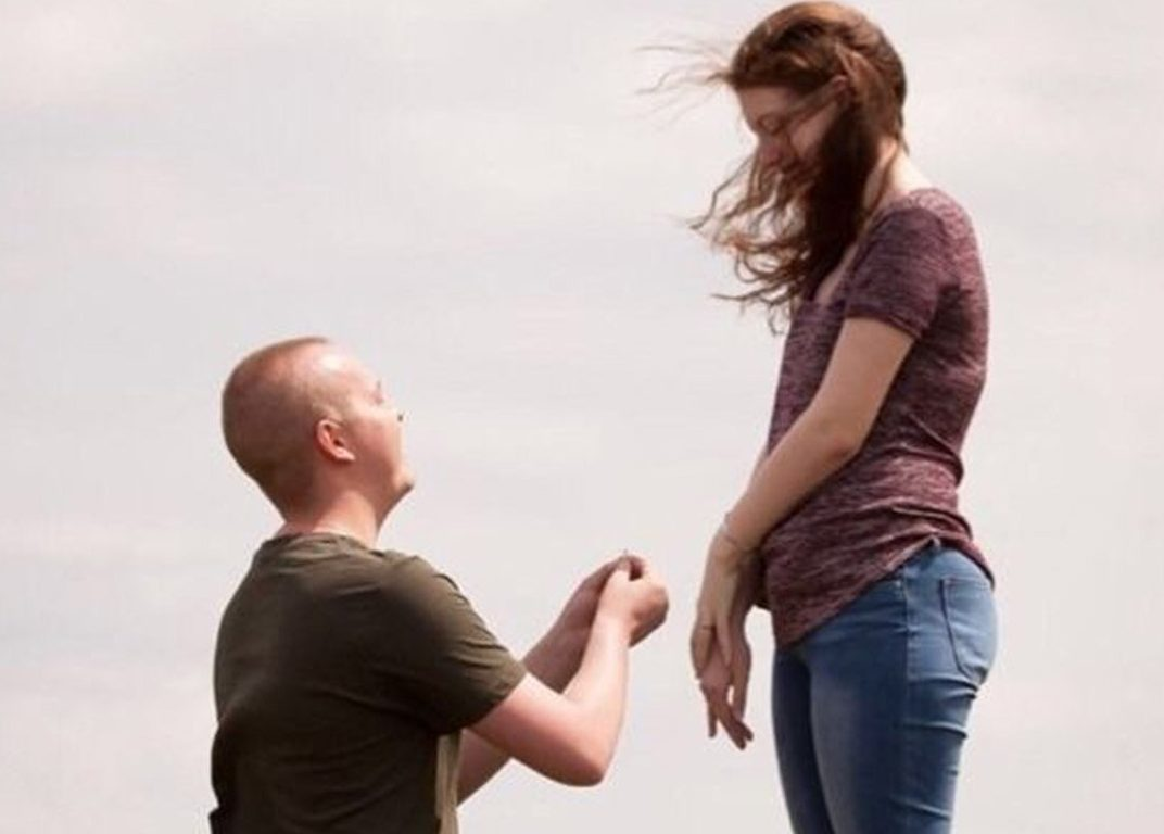 METRO GRAB - taken from the GoFundMe Page of Brady Hunker 17-year-old boy with cancer proposes to his girlfriend https://www.gofundme.com/teenage-cancer-love-story Picture: GoFundMe