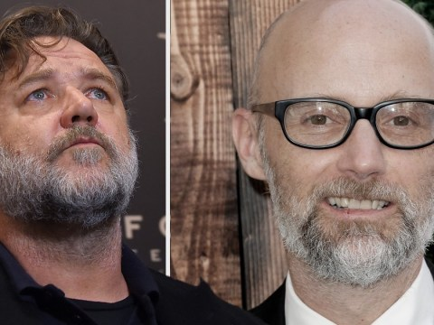 Russell Crowe 'pinned Moby against wall and screamed at him in bathroom' the first time they met
