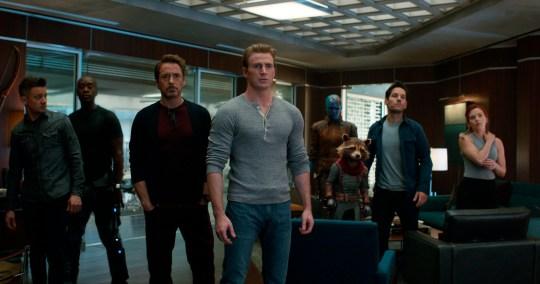 Avengers Endgame, Marvel, Jeremy Renner, Don Cheadle, Robert Downey Jr., Chris Evans, Karen Gillan, Bradley Cooper, Paul Rudd and Scarlett Johansson, Disney