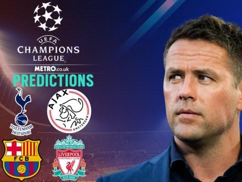 Michael Owen's Champions League predictions for Spurs vs Ajax and Barcelona vs Liverpool