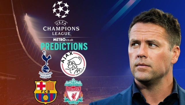 Tottenham vs Ajax, Barcelona vs Liverpool (Picture: Metro.co.uk)