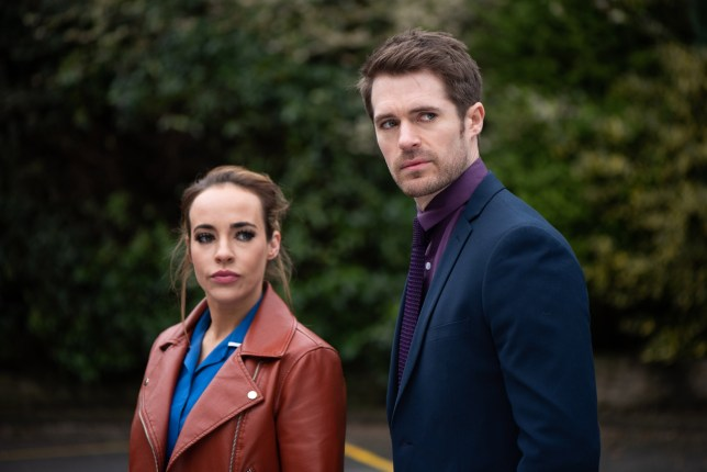 SIENNA AND LAURIE PREPARE TO HEAR THE OUTCOME OF THE SEXUAL HARRASSMENT INVESTIGATION EMBARGOED UNTIL 7 MAY