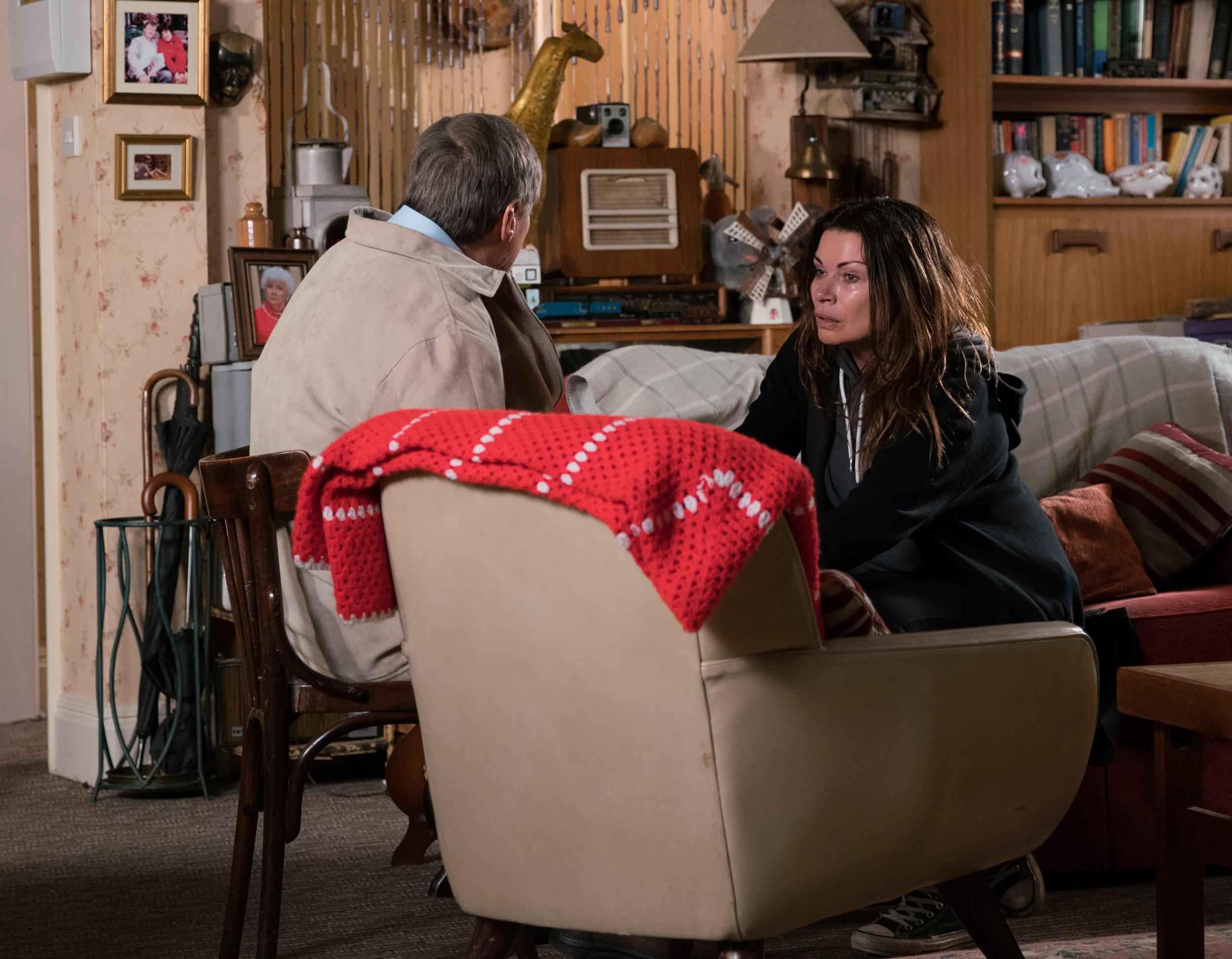 Carla Connor (Alison King) makes her shock return in Coronation Street
