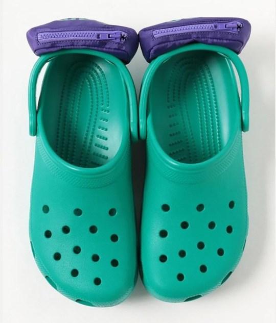 Les Crocs déchaînent encore plus d'horreur sur le monde avec leurs chaussures banane Provider: BEAMS Source: https://www.beams.co.jp/item/beams/shoes/11330660332/