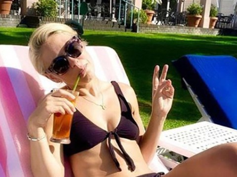 Emma Willis chills in bikini after glam photoshoot in Cape Town days after cold sore strikes