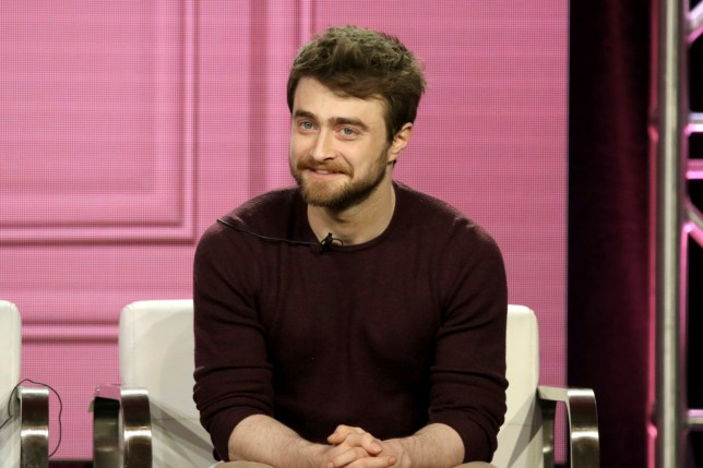 "Daniel Radcliffe participates in the ""Miracle Workers"" panel during the TBS presentation at the Television Critics Association Winter Press Tour"