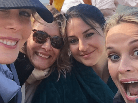 Reese Witherspoon photoshops Zoe Kravitz into Big Little Lies selfie because she doesn't want her to get FOMO