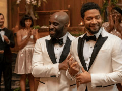 Jussie Smollett shares 'pride' in Empire return as he makes US TV LGBT history