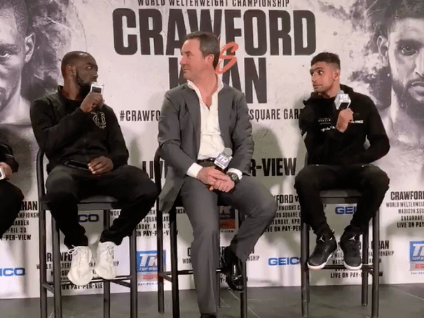 Terence Crawford tells Amir Khan: You didn't quit, tell the truth