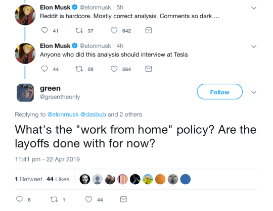 Elon Musk offers Reddit user an amazing Tesla job but they say 'nope