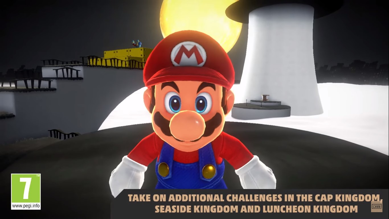 Super Mario Odyssey - now available in VR