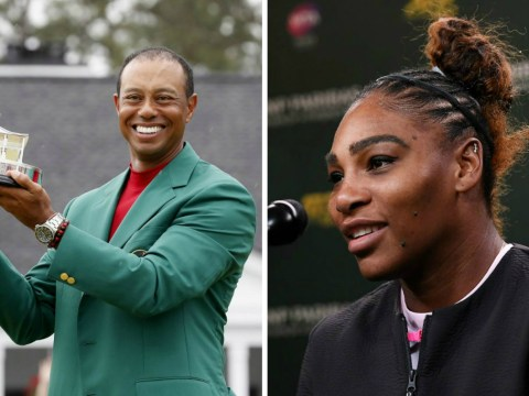 Serena Williams was 'in tears' watching Tiger Woods win The Masters