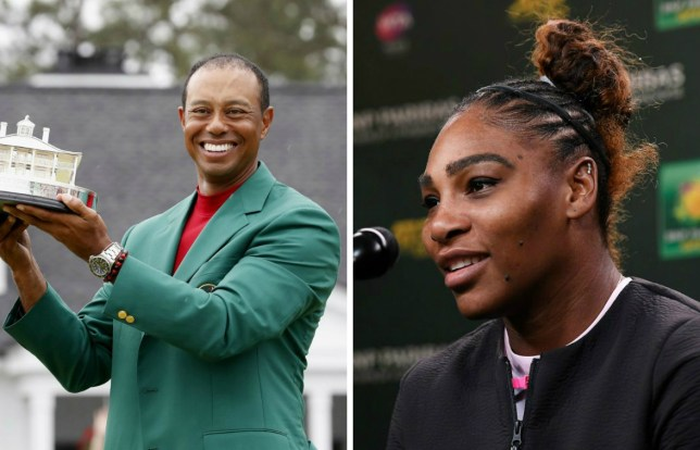Serena Williams pays tribute to Tiger Woods after his Masters win