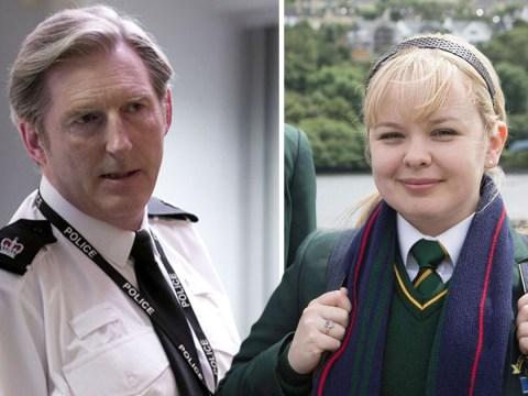 Derry Girls star had a 'mortifying' encounter with Line Of Duty's Adrian Dunbar