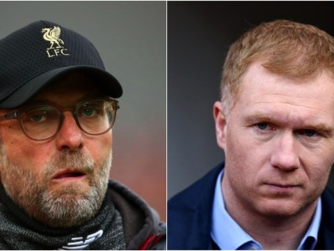 Paul Scholes says Manchester United draw will cost Liverpool and Jurgen Klopp the Premier League title