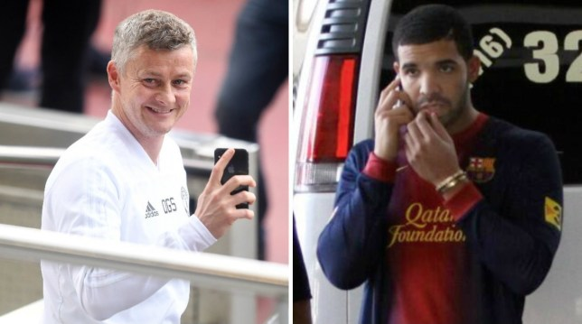 69ff9ac1 Manchester United inflict 'Drake Curse' on Barcelona ahead of Champions  League clash