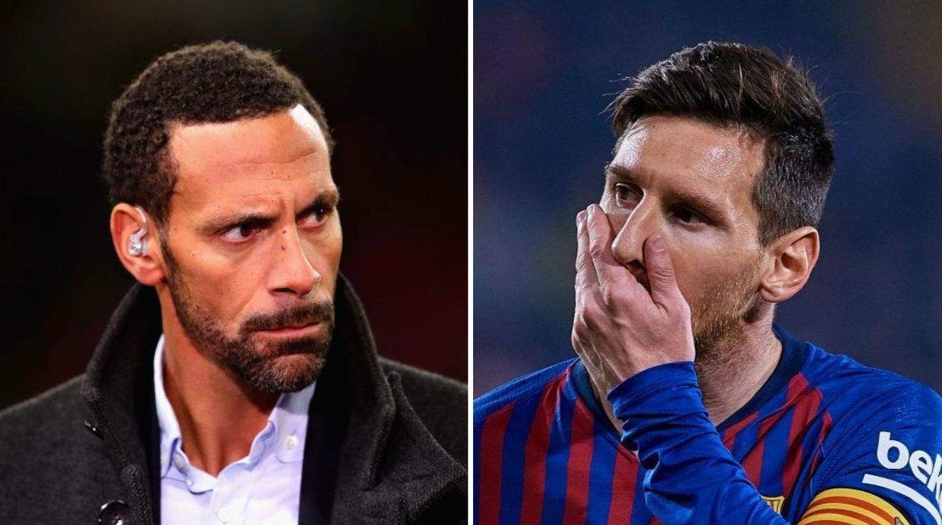 Rio Ferdinand tells Manchester United defenders how to combat Lionel Messi