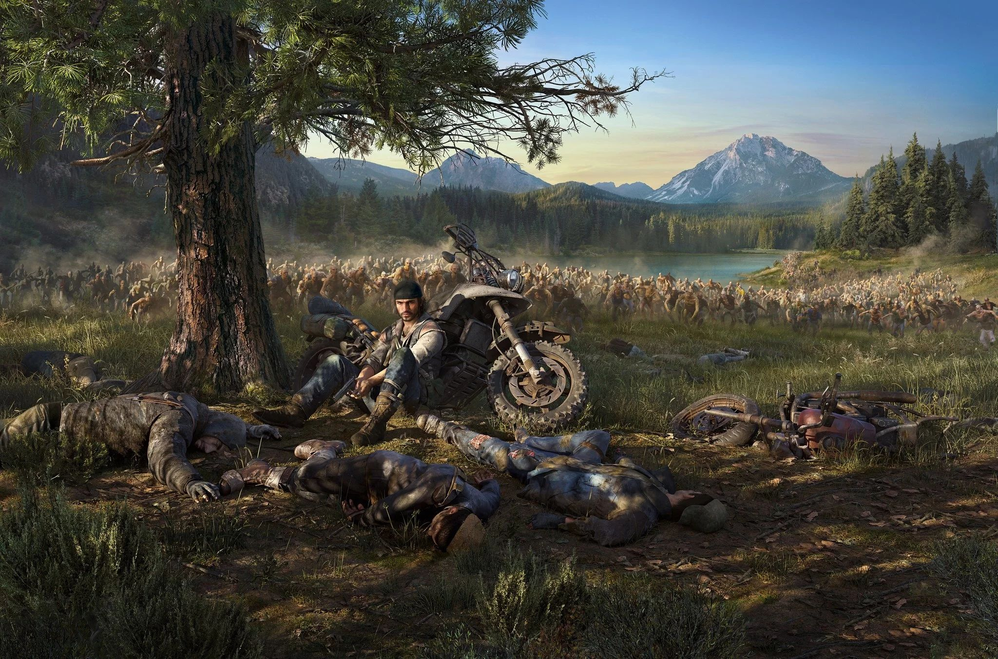 Days Gone review – the motorcycling dead