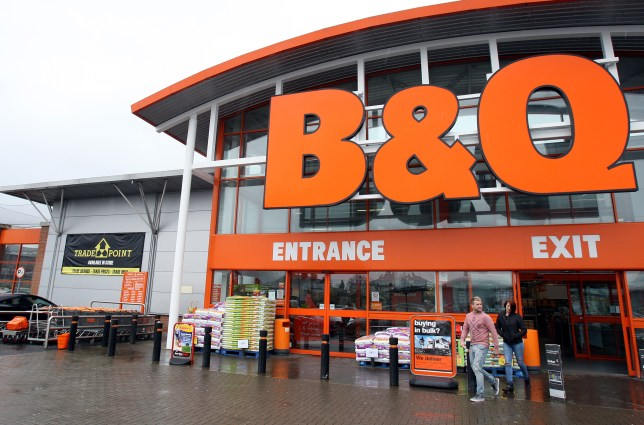 The outside of a B&Q store