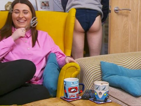 Gogglebox viewers recoiling in horror after Pete flashes his bum in 'Kylie pants'